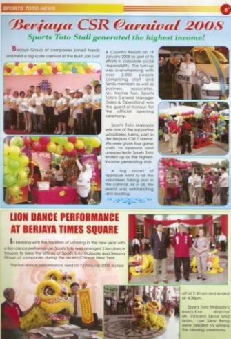 Media in TOTO Magazine